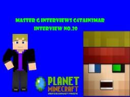 Master G Interviews C4ptain3mar Minecraft Blog Post