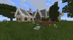 French Country Home-Inspired by Wok-Plot Server Minecraft Map & Project