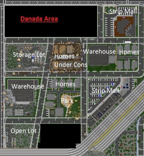 Greenfield Danada Area Minecraft Project