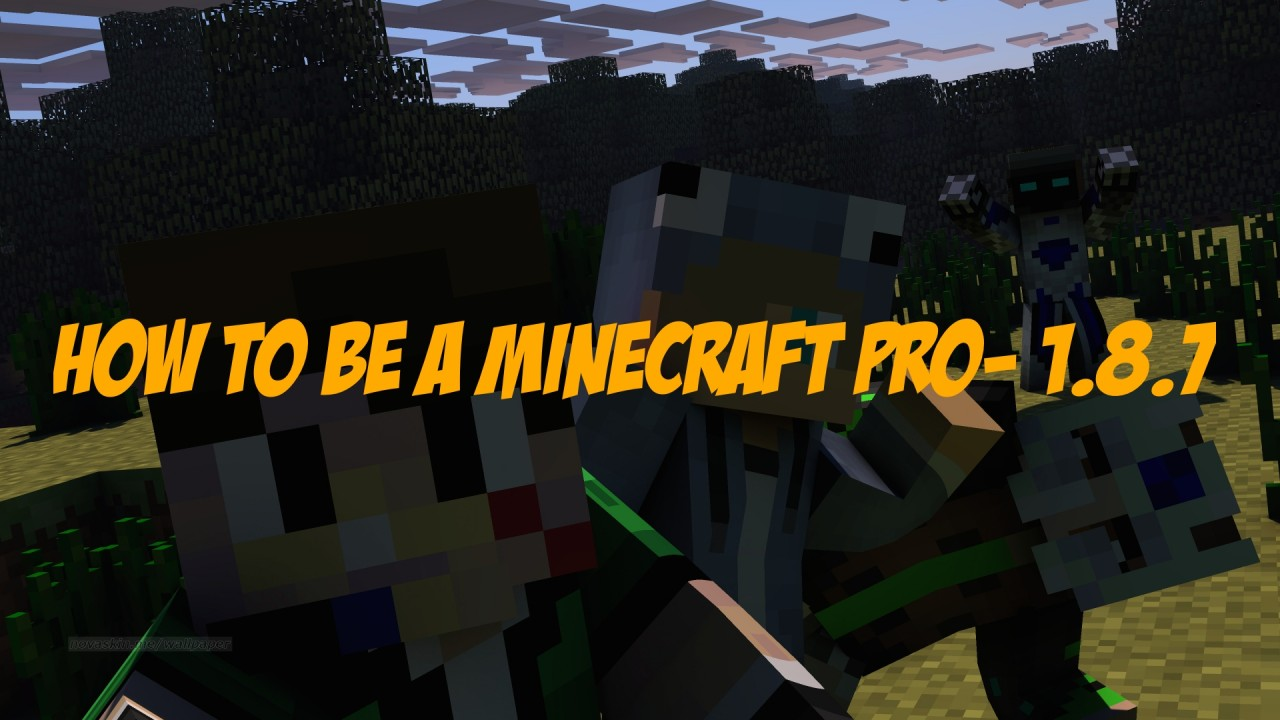 How To Be A Minecraft Pro- 1 8 7 Minecraft Blog
