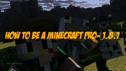 How To Be A Minecraft Pro- 1.8.7 Minecraft