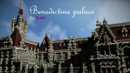 Benedictine Palace | A Neo-Gothic palace Minecraft Project