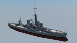 HMS Dreadnought (1906) 1:1 Minecraft Map & Project