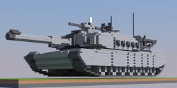 M1 Abrams tank CATTB Minecraft Project