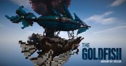 ● The Goldfish ● Fantasy Airship Build Minecraft
