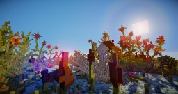 Mother Swam in the Giant Flower World Minecraft Map & Project