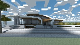 Variazioni .  Organic Modern House Minecraft Map & Project