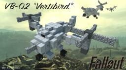 """VB-02 """"Vertibird"""" (Fallout) Minecraft Map & Project"""