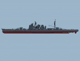 heavy cruiser Takao Minecraft Map & Project
