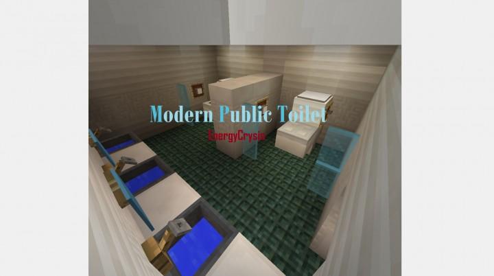 Modern Public Bathroom I Know Whatever Was Bored