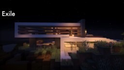 Exile-a modern house Minecraft Map & Project