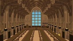 The Great Hall of Hogwarts! Minecraft Map & Project