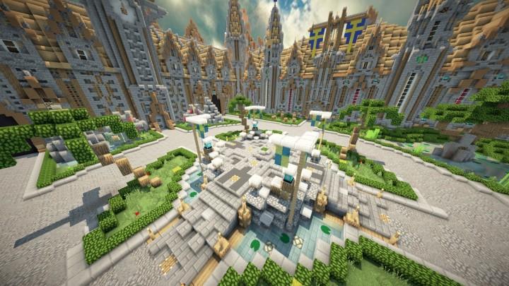 LobbyHub Spawn V Download Minecraft Project - Geile maps fur minecraft downloaden