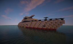 AquaQuack - Modern Yacht Minecraft Map & Project
