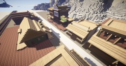Red Dead Redemption Town Minecraft Project