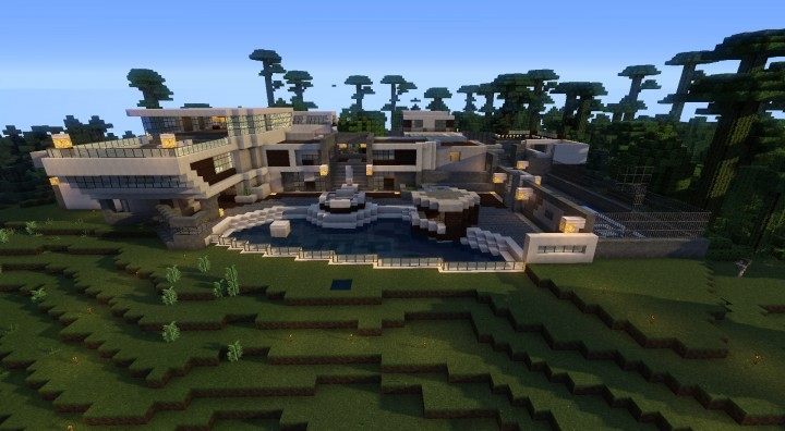 Call of Duty: Raid map (Black ops II) Minecraft Project
