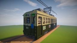 Hiroden 650 series tramtrain Minecraft Map & Project