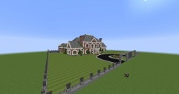Colonial Mansion No. 1 Minecraft Map & Project