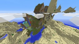 MOUTAIN PARKOUR (short) Minecraft Map & Project