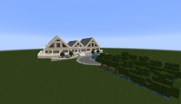 Big Villa V1 ~ 30/100 % Minecraft Map & Project