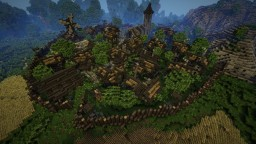 Epic Medieval Town + [Download] Minecraft