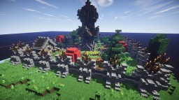 Fantasy Town Progress: First Tower Minecraft Map & Project