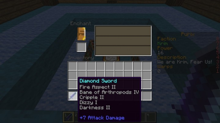 Minecraft custom enchant servers