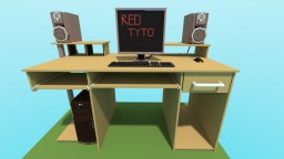 My Desk Minecraft Map & Project