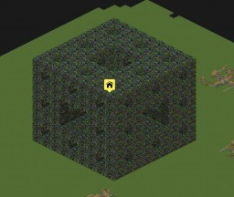 Iteration 5 rainbow menger sponge Minecraft