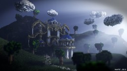 Phlanx - Beautiful Hub for FadeCloud Minecraft Map & Project