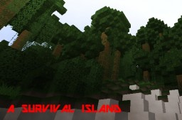 A Survival Island Minecraft Map & Project