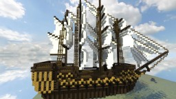 Armanavis [Full-Rigged 48-gun Naval Frigate] Minecraft Map & Project