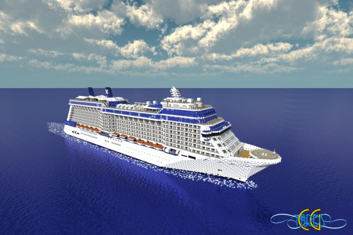 Celebrity Solstice 1:1 Scale Cruise Ship [Full-Interior ...