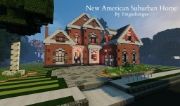 New American Suburban Home|TMA|WoK Minecraft Map & Project