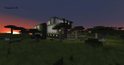 futuristic mansion III Minecraft Map & Project