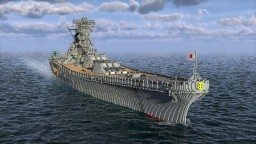 Battle Ship Yamato 3:1 scale model Minecraft