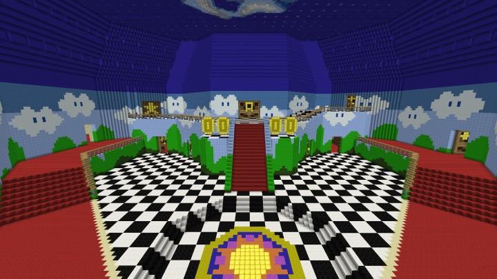 4 1 Massive Scale Super Mario 64 Project Minecraft Project