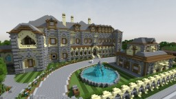 Huge mansion Minecraft