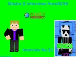 MasterG Interviews Nova8236 Minecraft Blog Post