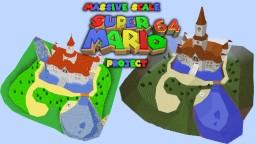4:1 Massive Scale Super Mario 64 Project Minecraft Project