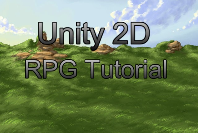 how to make a 2d rpg in unity