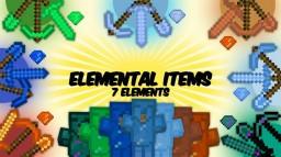 [Forge 1.7.2 - 1.8]Elemental Items Mod