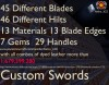 Custom Sword (Forge) (1.7.10)