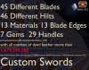 Custom Sword (Forge) (1.7.10) Minecraft Mod