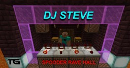 SPOODER RAVE HALL - SERIOUSWARRIOR Minecraft Map & Project