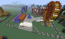 Andrew Land amusement park Minecraft Project