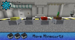 MORE MINECARTS – ONLY ONE COMMAND [MINECRAFT 1.8.1+] Minecraft Project
