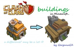 Clash of Clans Buildings by GerganaGZ Minecraft Map & Project