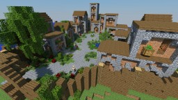 Survival Map  | Village Of The Island [DOWNLOAD] Minecraft Map & Project
