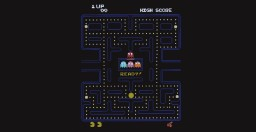 Pac-Man Maze Minecraft Project